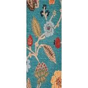 Jaipur Hand-Tufted Floral Pattern Rug Wool & Art Silk 2.6' x 8'