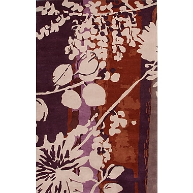 Jaipur Hand-Tufted Floral Pattern Area Rug Wool, 8' x 11'