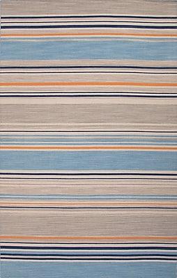 Jaipur Flat-Weave Stripe Area Rug Wool, 10' x 8'