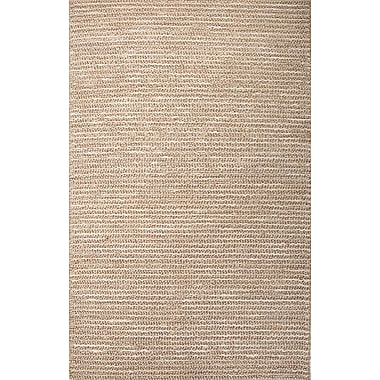 Jaipur Stripe Area Rug Hemp, 8' x 10'