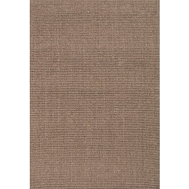 Jaipur Naturals Solid Hand Made Area Rug Sisal, 5' x 8'