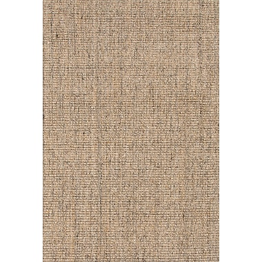 Jaipur Naturals Solid Pattern Area Rug Sisal, 9' x 12'