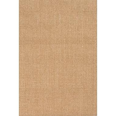 Jaipur Naturals Solid Pattern Sisal Area Rug Sisal, 3' x 5'