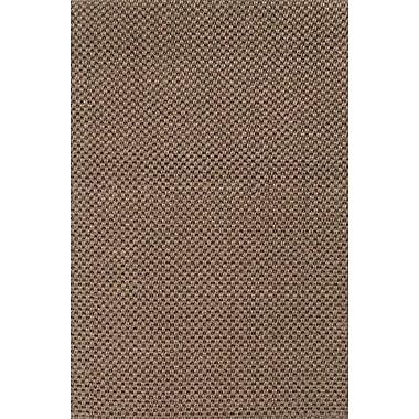 Jaipur Naturals Sanibel Brown Solid Area Rug Sisal, 5' x 8'