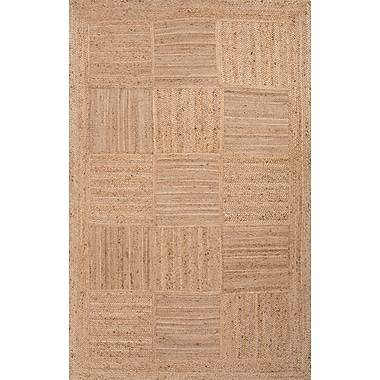 Jaipur Aaron Rectangle Area Rug Jute, 2' x 3'