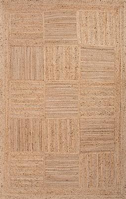 Jaipur Aaron Rectangle Area Rug Jute, 3' x 2'