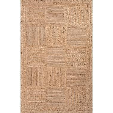 Jaipur Aaron Rectangle Area Rug Jute, 8' x 10'