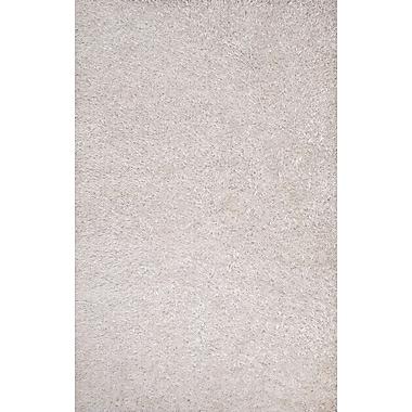 Jaipur Flux Solid Area Rug Polyester, 7.6x9.6