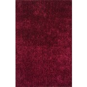 Jaipur Solid Pattern Rectangle Shag Area Rug Polyester, 5.6' x 3.6'