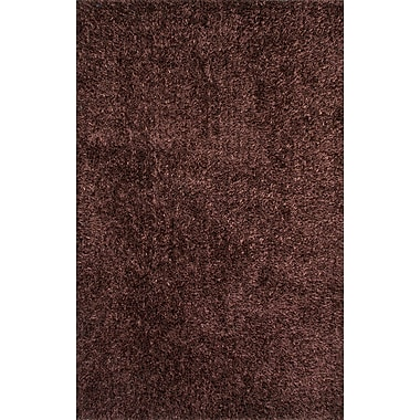 Jaipur Solid Pattern Rug Polyester, 5' x 7.6'