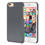rooCASE iPhone 6 RC-IPH6-4.7-MD-GY Slim Fit Median Hard Case Protective Cover, Gray