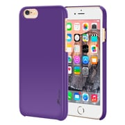 rooCASE iPhone 6 RC-IPH6-4.7-MD-PR Slim Fit Median Hard Case Protective Cover, Purple