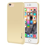 rooCASE iPhone 6 RC-IPH6-4.7-MD-CG Slim Fit Median Hard Case Protective Cover, Gold