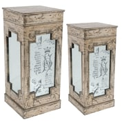 A&B Home Pedestal Plant Stand (Set of 2)