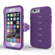 Gumdrop Cases Drop Tech V2 Carrying Case For Apple iPhone 6, Dark Purple/Light Purple