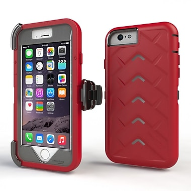 Gumdrop Cases Drop Tech V2 Carrying Case For Apple iPhone 6 Plus, Royal Red/Gray