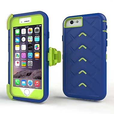 Gumdrop Cases Drop Tech V2 Carrying Case For Apple iPhone 6 Plus, Royal Blue/Lime