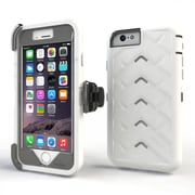 Gumdrop Cases Drop Tech V2 Carrying Case For Apple iPhone 6, White/Gray