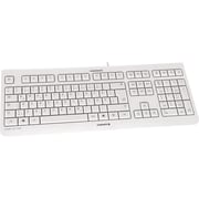 CHERRY KC1000 Economical Corded Keyboard, Light Gray