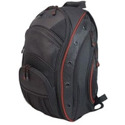 "Mobile Edge EVO Backpack For 16"" Laptop, Black/Red."