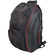 """Mobile Edge EVO Backpack For 16"""" Laptop, Black/Red."""