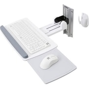 Ergotron® Neo-Flex® Wall-Mount For Mouse/Keyboard, White