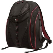 "Mobile Edge Express Backpack 2.0 For 17"" MacBook/Notebook, Black/Red."