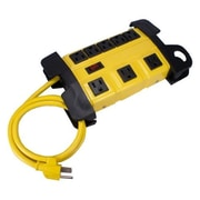 QVS® 8 Outlet Surge Protector Wall Mount Power Block With 3' Cord