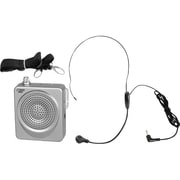 PYLE - PRO SOUND 50 W Waistband Portable PA System With A Headset Microphone, Silver