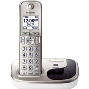 Panasonic KX-TGD210N Digital Cordless Phone With 1 Handset, 5 Name/Number