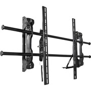"InFocus INF-WALLMNT3 Up to 82"" Extra Large Wall Mount, Black"