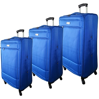McBRINE Eco Friendly 3-Piece Luggage Set of 28