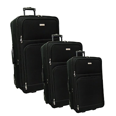McBRINE Promotional 3-Piece Expandable Luggage Set Consisting of 28