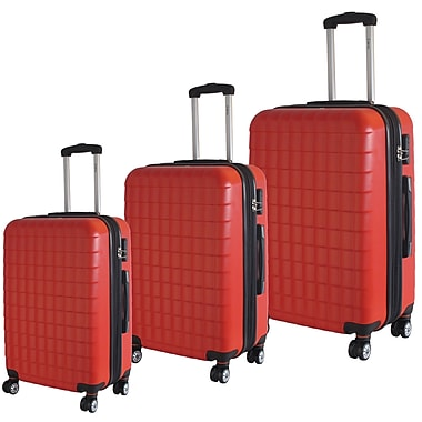 McBRINE Eco Friendly 3-Piece Luggage Set Consisting of 28