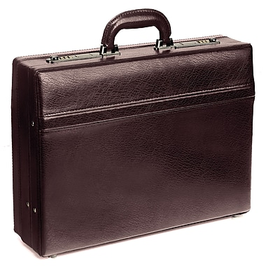 "Mancini Expandable Attache Case, 17.75""x 4.75""x 13"