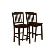 "Monarch Specialties Inc. I 1548 36"" X 39"" Dining Set, Cappuccino"