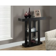 "Monarch Hall Console Side/Accent Table, 32"", Cappuccino"