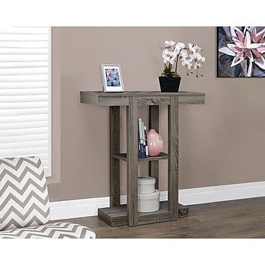 Monarch Reclaimed-Look Hall Console Side/Accent Table, 32