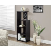 "Monarch Accent Display Unit, 48""H, Cappuccino"