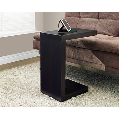Monarch Hollow-Core Side/Accent Table, Dark Taupe