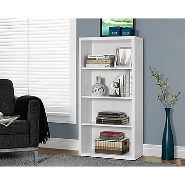 Monarch Hollow-Core Bookcase/Adjustable Shelves 48