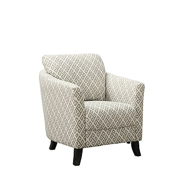Monarch Specialties Inc. I 8009 Fabric Accent Chair, Sandstone