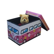 NOYA USA Children's Folding Storage Bin; Pink