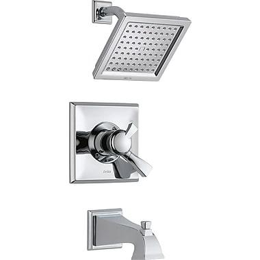 Delta Dryden Diverter Tub and Shower Faucet w/ Lever Handle; Chrome