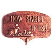 Montague Metal Products How Sweet It Is Garden Sign
