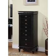 Wildon Home   Moser Jewelry Armoire w/ Mirror