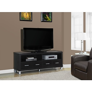 Monarch Hollow-Core TV Console with 4 Drawers, 60