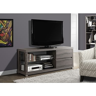 Monarch TV Console/ Tempered Glass 60
