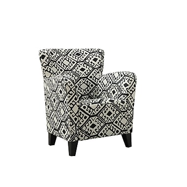 Monarch Specialties Inc. I 8079 Fabric Club Chair, Beige