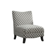 Monarch Specialties Inc. I 8113 Fabric Accent Chair, Gray
